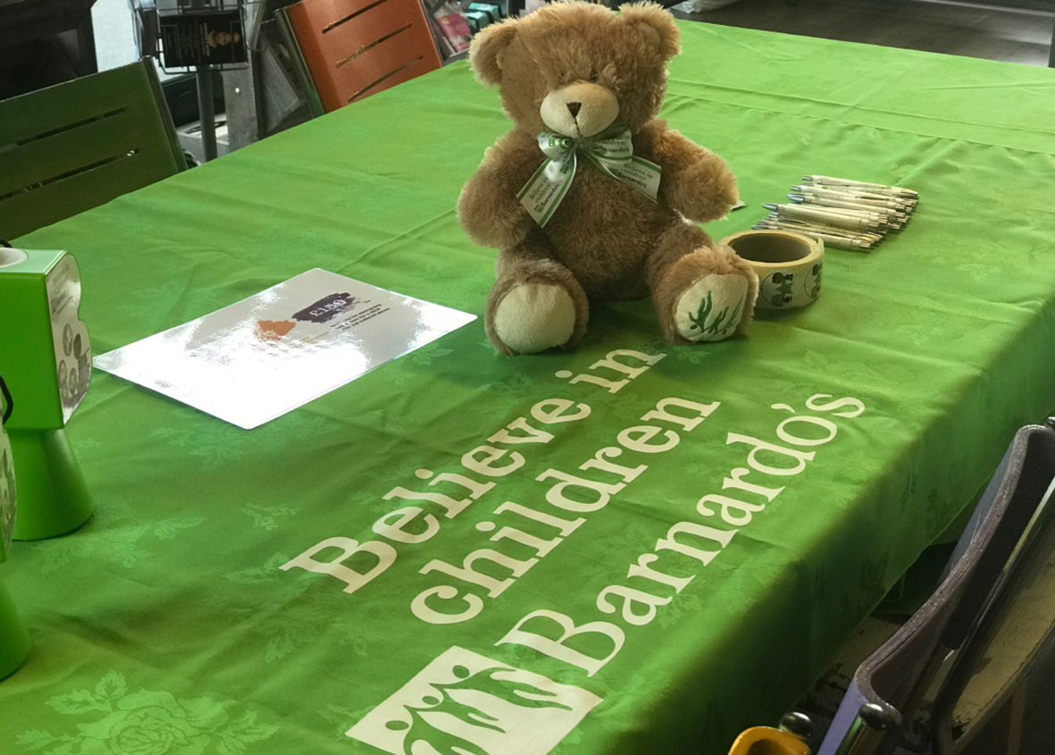 Barnardo's at the Ideas Hub, Chelmsford